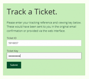 Track a Ticket